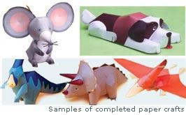 Papercrafts-samples